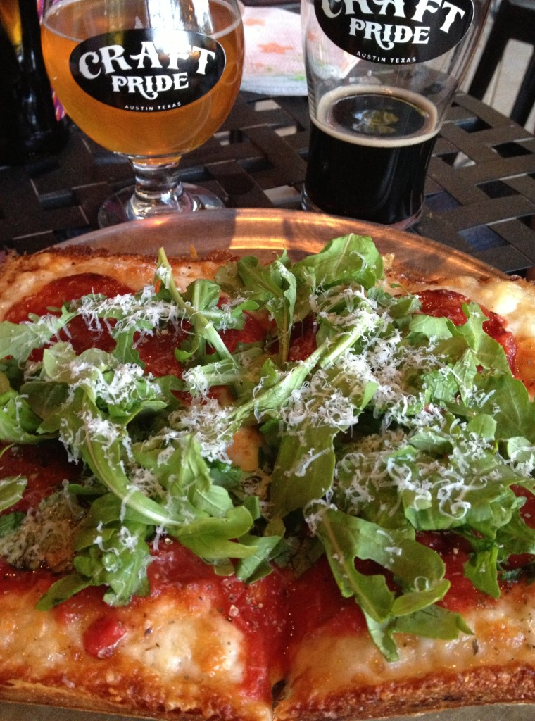 Best Places to Drink Beer and Eat Pizza in Austin
