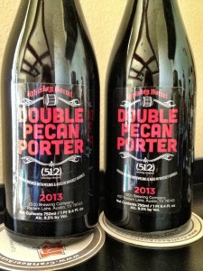 512 Brewing Whiskey Barrel Aged Double Pecan Porter