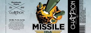 Missile IPA label image Craft Beer Austin
