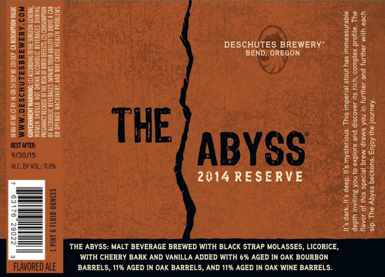 The Abyss 2014 reserve