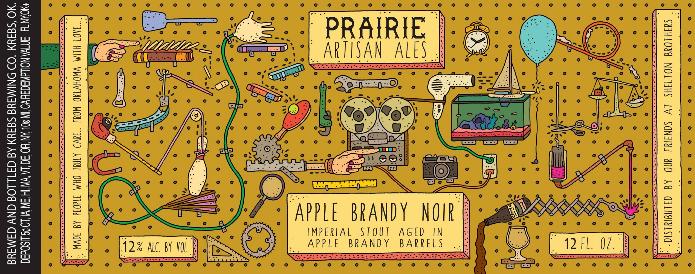 Picture of Prairie Artisan Ales Apple Brandy Barrel Noir Label
