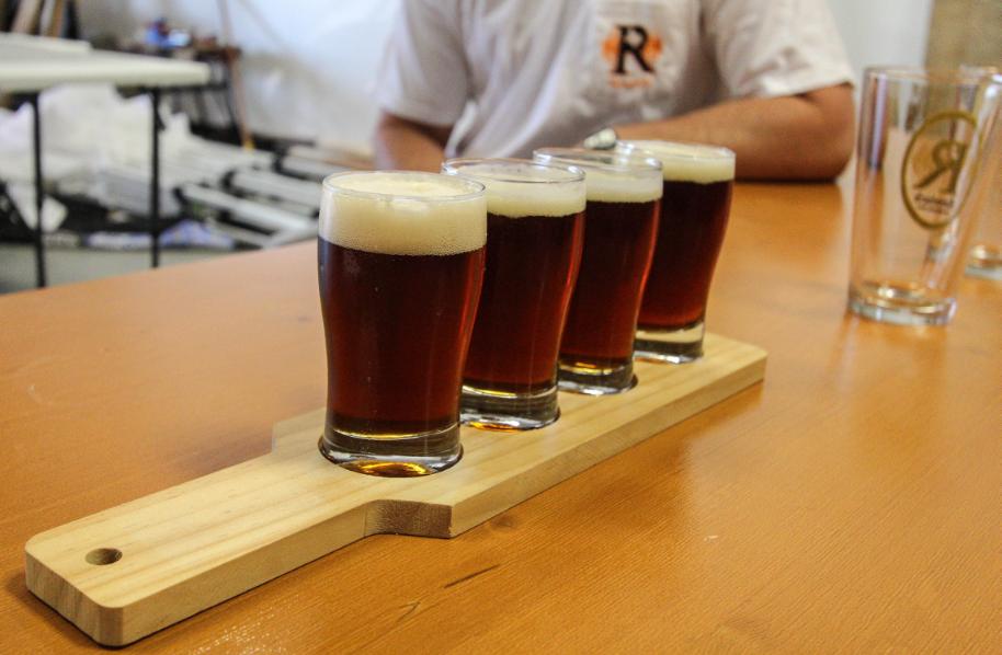 Rentsch Brewery Flights