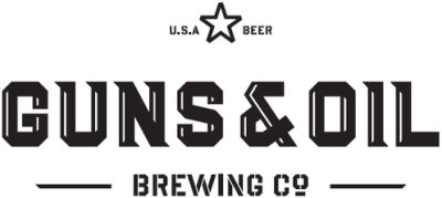 Guns and Oil Beer Logo