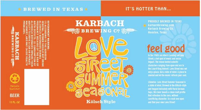 Karbach Summer Love Street