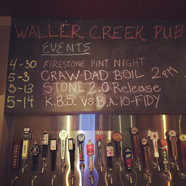 Waller Creek Pub Events