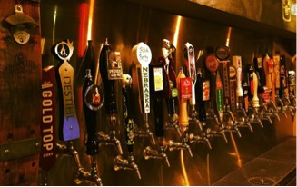 Waller Creek Pub Taps