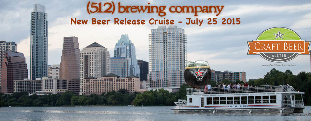 Banner for 512 Brewing New Beer Release Cruise