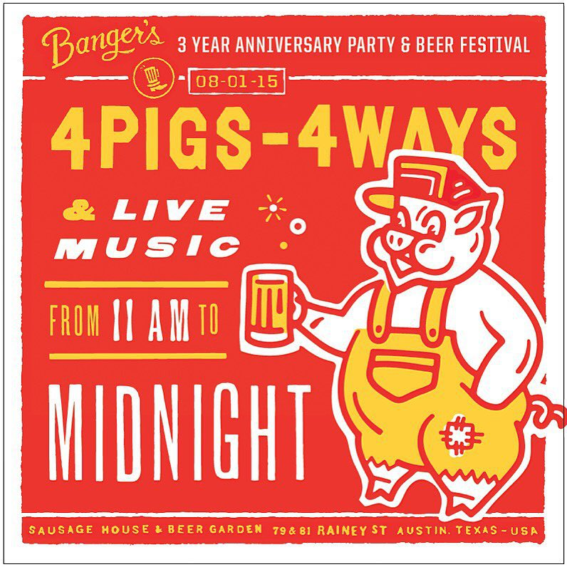 Banger's 3rd Anniversary Party and Beer Festival