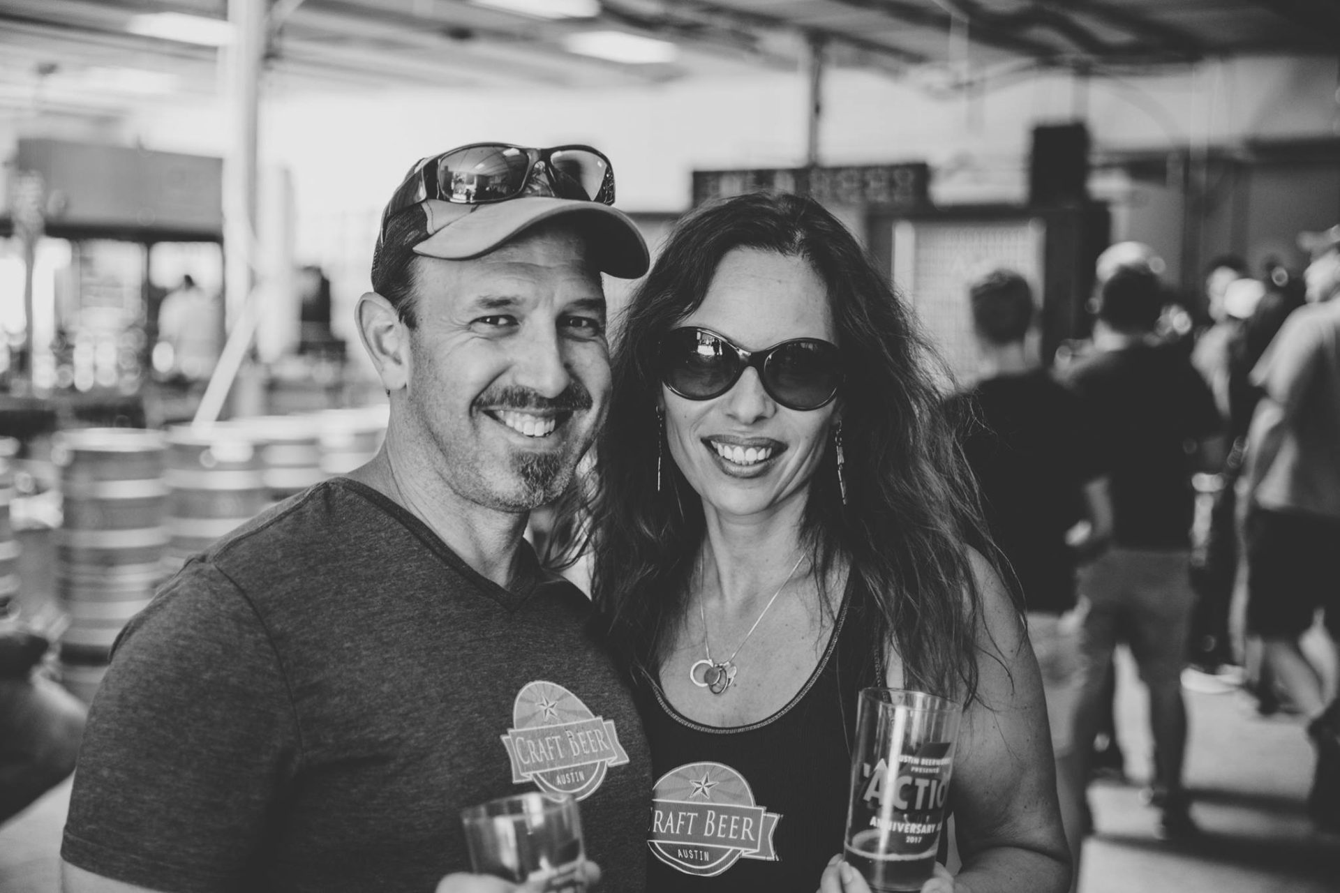 Rich and Irina Plakas at Austin Beerworks Anniversary May 2017 - Photo By Tyler Malone -The Second Shooter