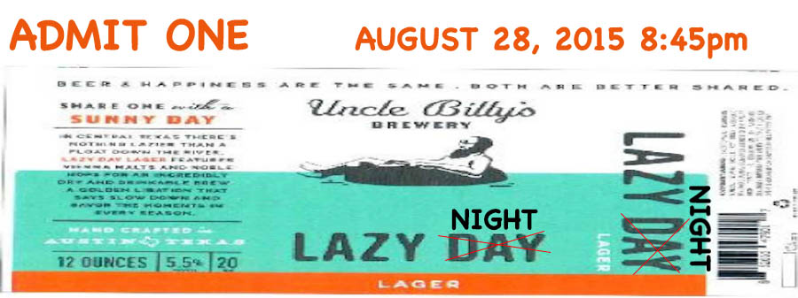 Uncle Billy's Lazy Night Cruise