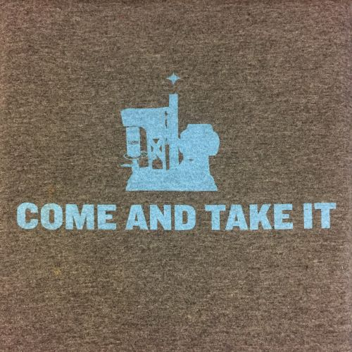 Picture of Cuvee Coffee Crowler Come and Take It tshirt