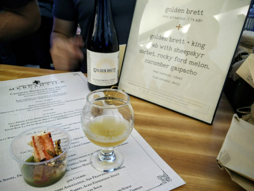 GABF Paired Allagash Golden Brett