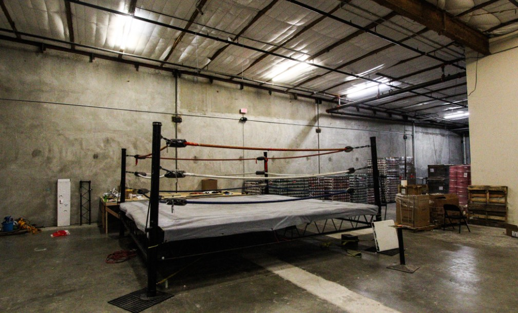 4th Tap Brewing Boxing ring