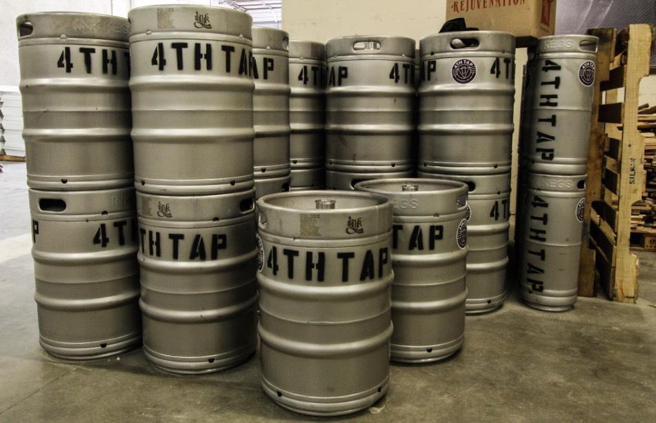 4th tap kegs