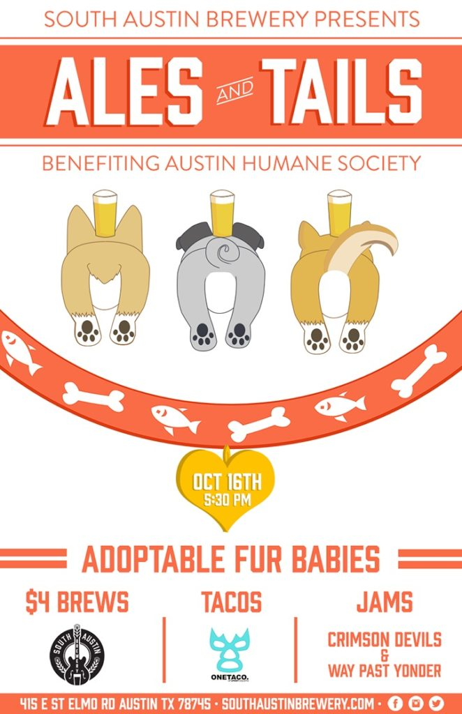 Ales and Tails and South Austin 2015
