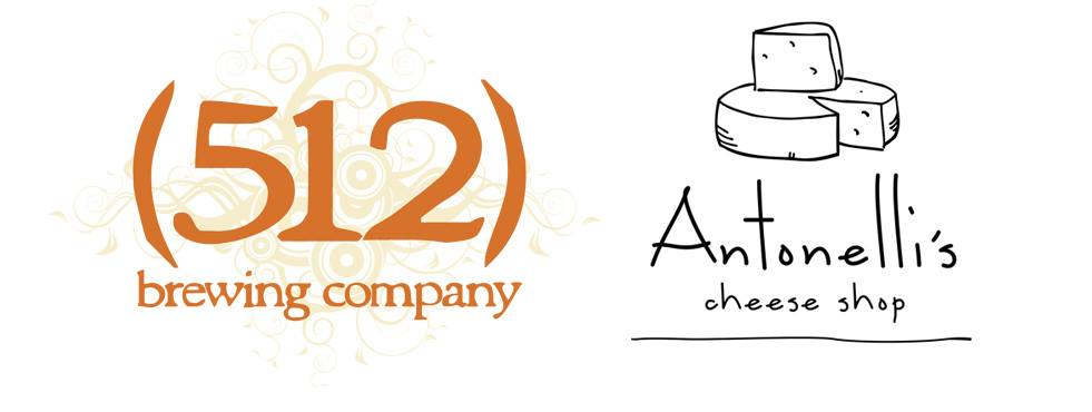 512 Brewing and Antonelli's cheese
