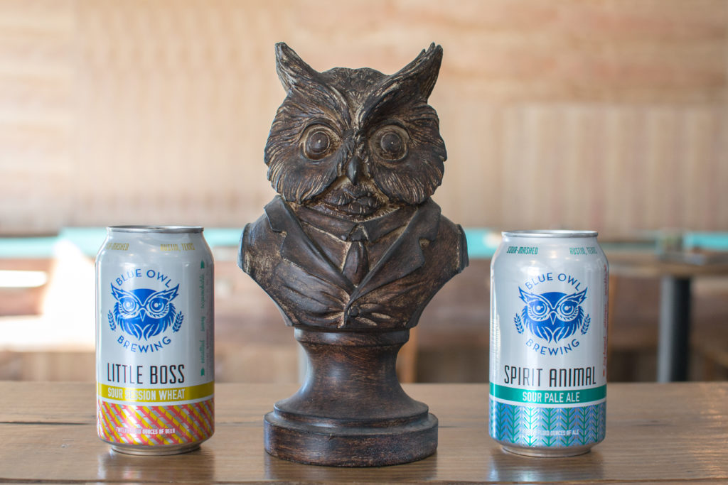 Picture of Little Boss & Spirit Animal from The First Production Sour Mash Brewery: Blue Owl Brewing