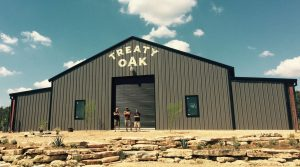 Treaty Oak Distilling and Brewing Outside