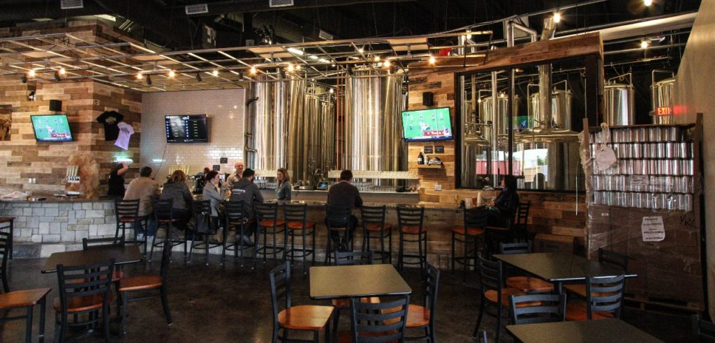 Whitestone Brewery Bar