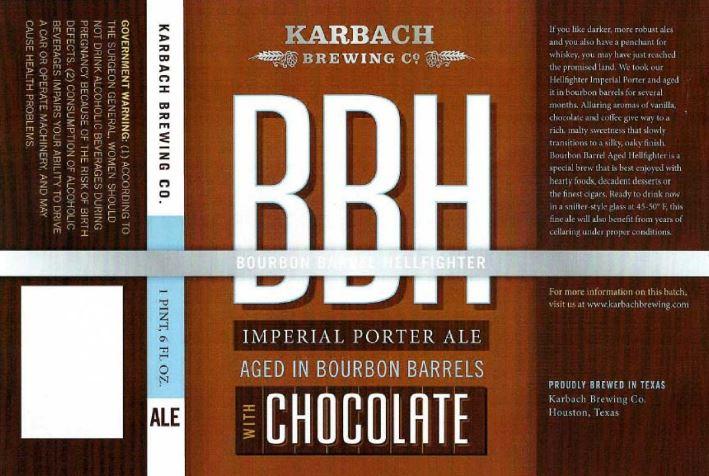karbach chocolate bbh