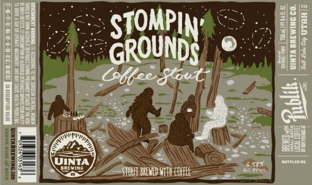 TABC Label and Brewery Approvals January 29 2016-uinta stompin grounds coffee stout