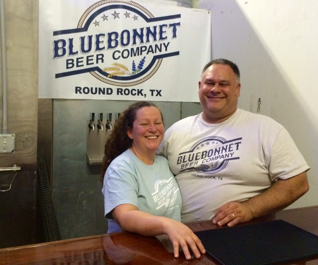 David and Clair Bluebonnet Beer Co - Texas Craft Brewery Profile