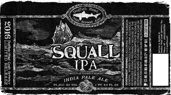 dogfish squal IPA