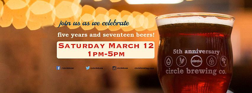 Circle Brewing 5th Anniversary Party