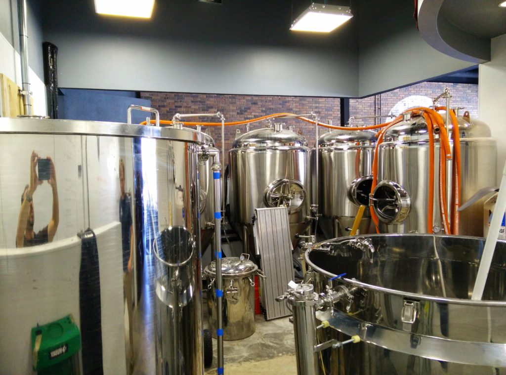 Red Horn Coffee and Brewing Co Brew Tanks