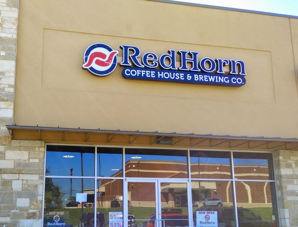 Red Horn Coffee and Brewing Co Outside