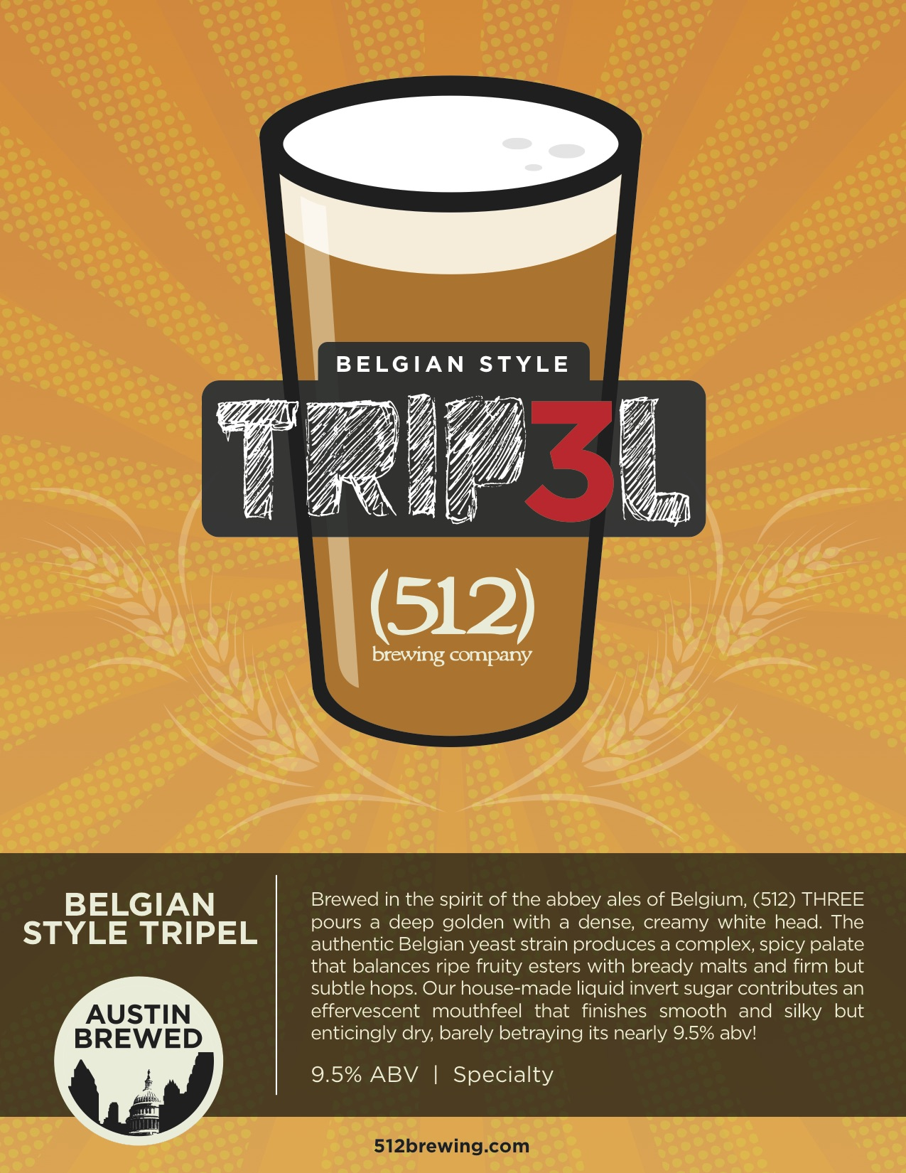 512 Brewing Tripel