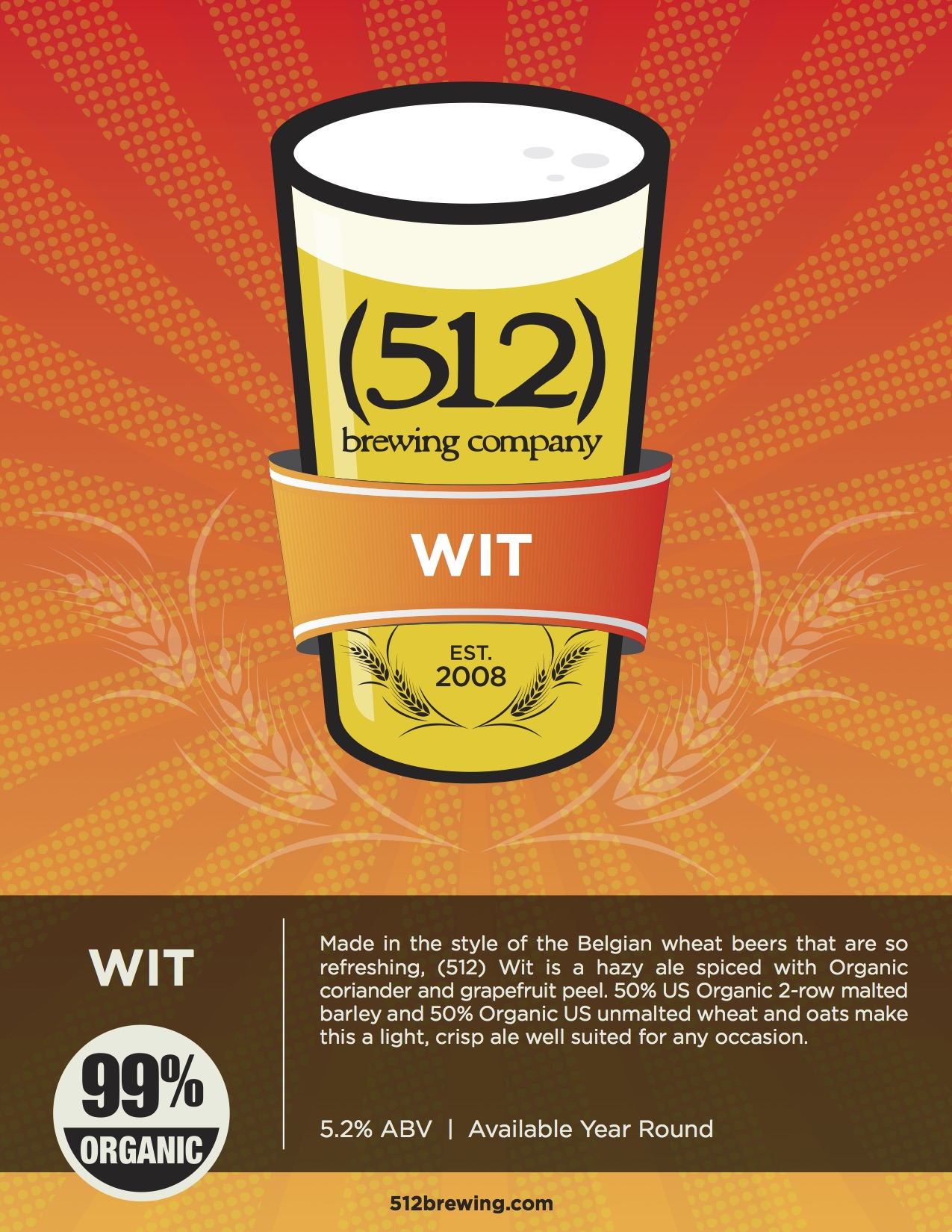512 Brewing WIT