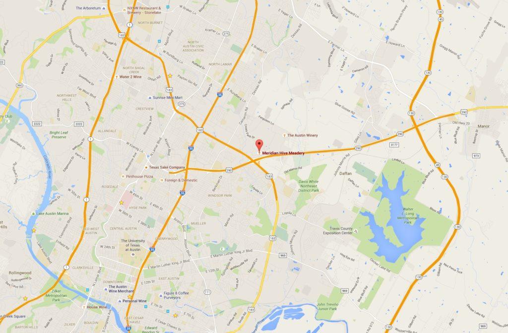 Meridian Hive Meadery Google Maps