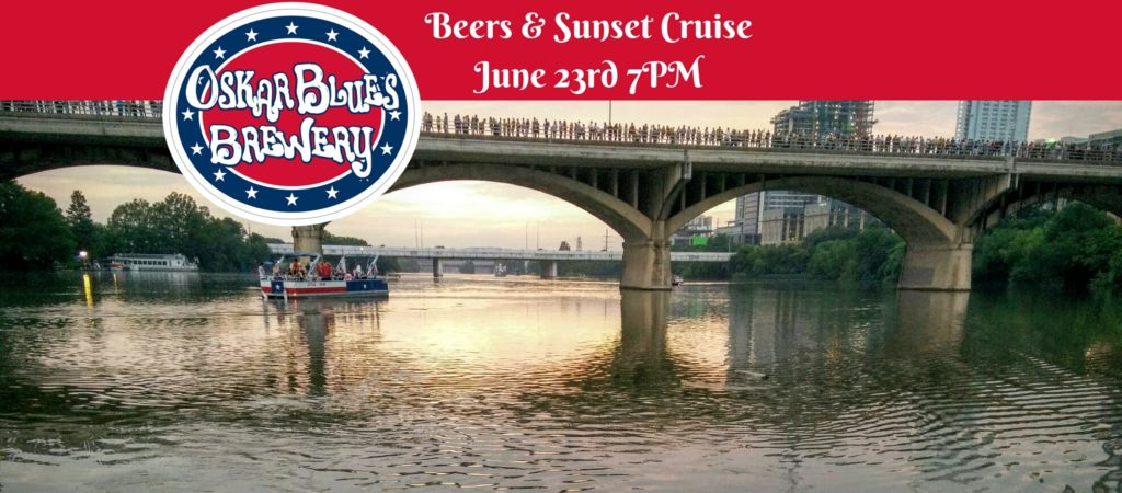 Beers & Sunset Cruise June 23rd 7PM