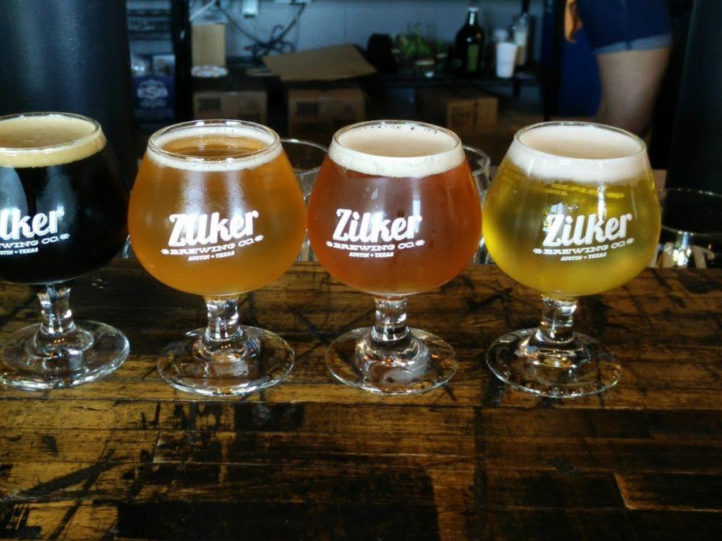 Zilker Brewing beers