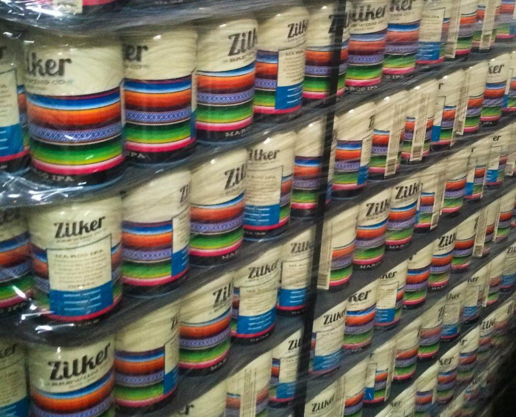 Zilker Brewing Cans