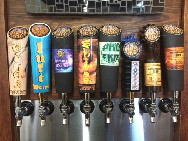 New Braunfels Brewing Co taps