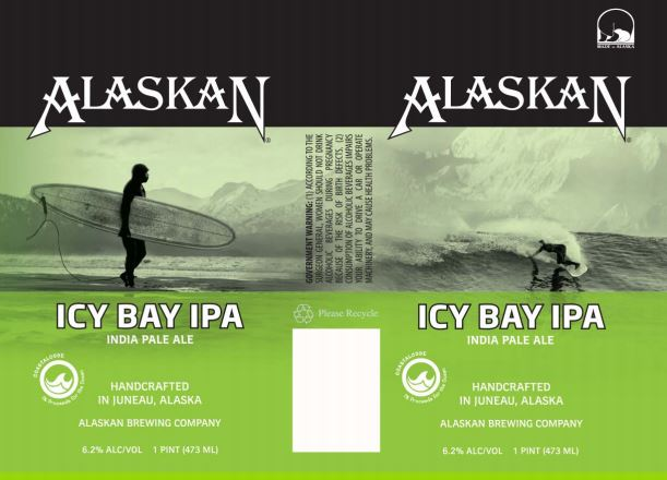alaskan icy bay TABC Label and Brewery Approvals July 8 2016