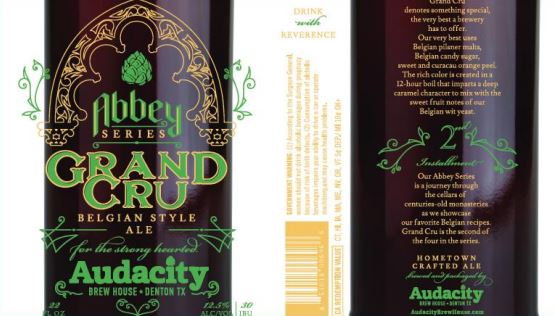 audacity grand cru TABC Label and Brewery Approvals July 1 2016