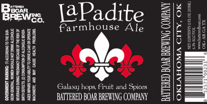 battered boar la padite TABC Label and Brewery Approvals July 1 2016