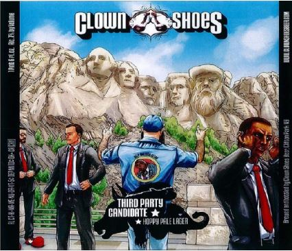 clown shoes third party candidate TABC Label and Brewery Approvals July 1 2016