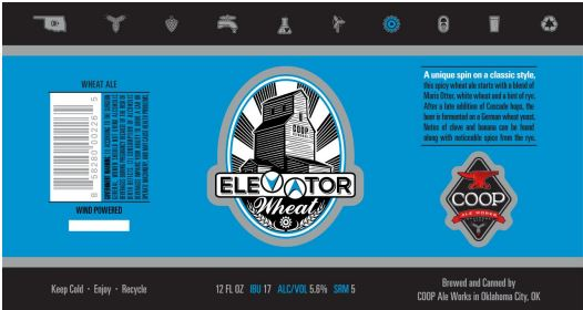 coop elevator TABC Label and Brewery Approvals July 1 2016