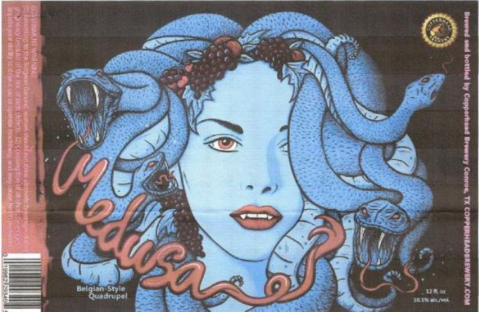 copperhead medusa TABC Label and Brewery Approvals July 1 2016