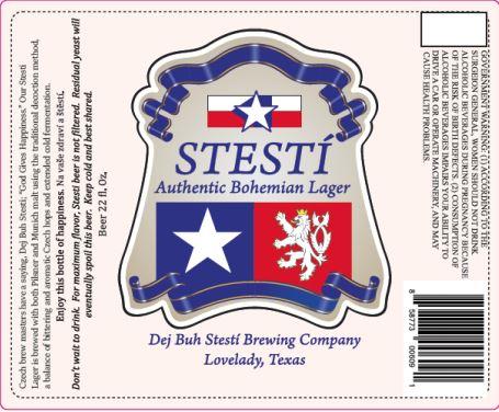 dej buh stesti bohemian TABC Label and Brewery Approvals July 1 2016