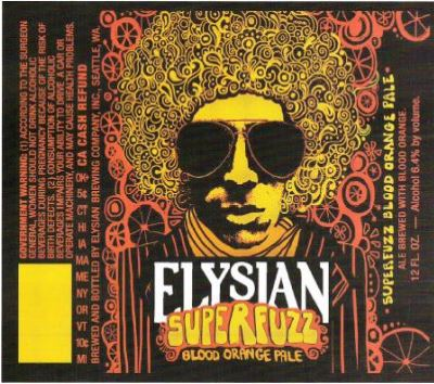 elysian super fuzz TABC Label and Brewery Approvals July 1 2016