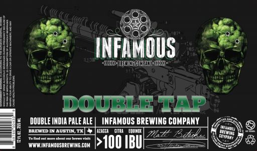 infamous double tap TABC Label and Brewery Approvals July 1 2016