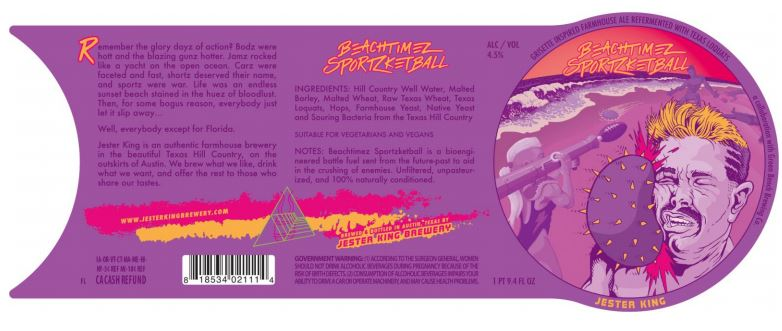 jester king beachtimez TABC Label and Brewery Approvals July 15 2016