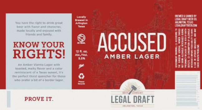 legal draft accused