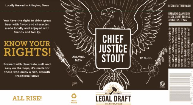 legal draft chief justice stout