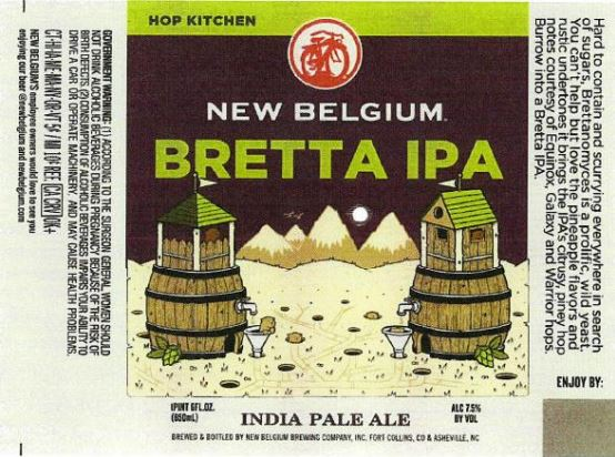 new belgium bretta ipa TABC Label and Brewery Approvals July 1 2016